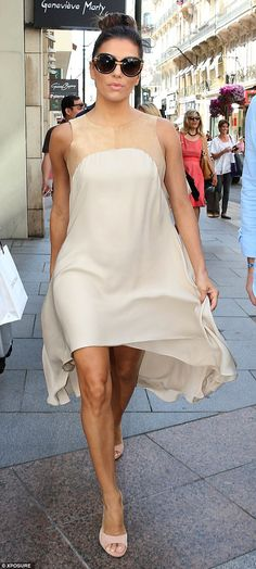 Simply stylish: Eva Longoria looked amazing as she stepped out for a spot of shopping in C...