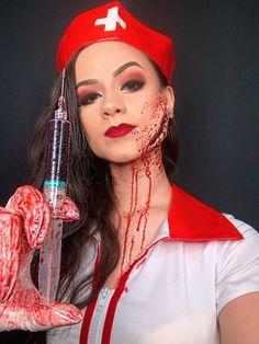 Scary Makeup, Sfx Makeup, Costume Makeup, Love Makeup, Horror Makeup, Halloween Makeup Clown, Amazing Halloween Makeup, Halloween Looks, Halloween Night