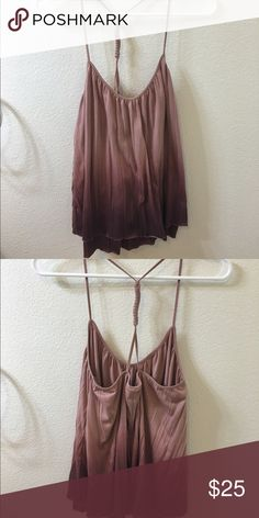 Akemi & Kim Ombre Top Such a fun Anthro too. Great condition. Anthropologie Tops Tank Tops