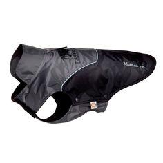 Touchdog Subzero-Storm Waterproof 3M Reflective Dog Coat with Blackshark Technology Black/ Grey - JKTD2BKXL
