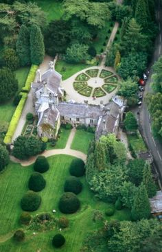 Gwydir Castle, Wales My children's ancestral home is actually a castle. I will take them there some day.
