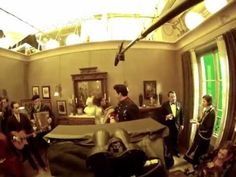 """Steadicam shot Behind the Scenes of """"Hugo"""" - One of the best examples of the effort that goes into filming a single scene in a movie."""