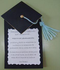 Plastificando ilusiones: Invitación graduación