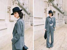 Vanessa Jackman: Paris Fashion Week AW 2012...Peony