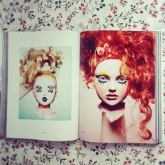 Incredible #beauty #editorial #Doll face by Luke Freeman. #Huger #magazine summer 2012