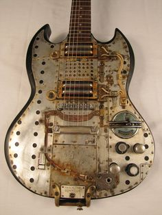 Separatorcaster electric guitar sold to Rick Springfield by Tony Cochran Guitars Picture