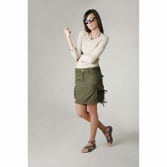 Prana Ellia Cargo Skirt ( Moss )