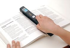 hi Resolution Wand Scanner...need and want this!