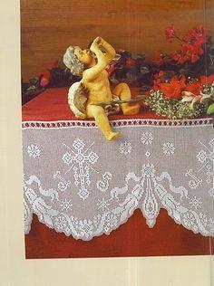 "ru / ConnieMounts - Альбом ""CR - Muestras y Motivos - Motivos religiosos ganchillo Filet Crochet, Winnie The Pooh, Painting, Yandex Disk, Art, Album, Gallery, Ideas, Towels"