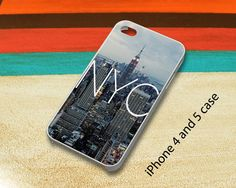 New York City iPhone 4 - 5 and Samsung Galaxy S3 - S4 Cases