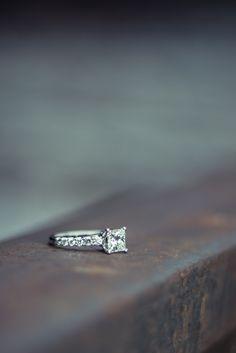 Impromptu Couples Shoot | Engagement Ring | Train Tracks | Railroad