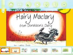 Hairy Maclary from Donaldson's Dairy $4.99 App for Literacy - Guided Reading