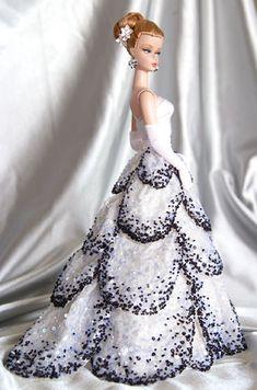 Barbie Gowns, Barbie Dress, Barbie Clothes, Beautiful Barbie Dolls, Vintage Barbie Dolls, Barbie Wedding, Glamour, Barbie Collection, Barbie Friends