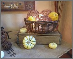 Little Brags: Some Fall Touches Inside