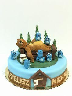 Happy Birthday Cakes, Birthday Parties, Birthday Party Checklist, Bear Cakes, Cake Art, Birthday Decorations, Fondant, Toilet, Cake Decorating