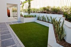 Fake Grass Design Ideas, Pictures, Remodel, and Decor - page 2