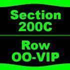 4 Tickets The Beach Boys 7/27 Michigan Lottery Amphitheatre at Freedom Hill Ster