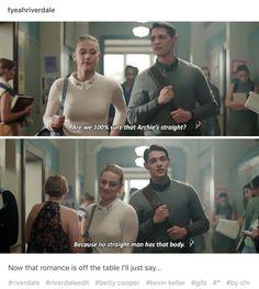 #Riverdale #Kevin #Betty