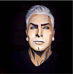 Quand un artiste se transforme en super-héros grâce au body painting (image)
