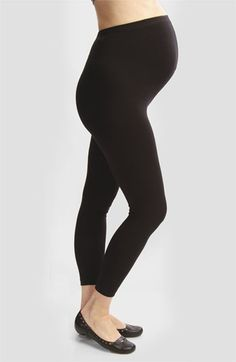 Japanese Weekend Maternity Over the Belly Leggings available at #Nordstrom