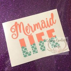 Unicorn Monogram Unicorn Decal Car Decal Cup Decal Unicorn - Mermaid custom vinyl decals for car