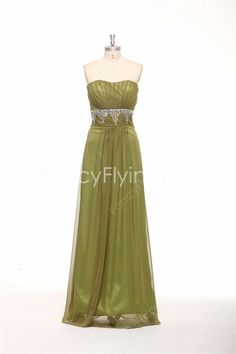 fancyflyingfox.com Offers High Quality Impressive Shallow Sweetheart Neckline A-line Floor Length Green Military Ball Gowns ,Priced At Only US$165.00 (Free Shipping)