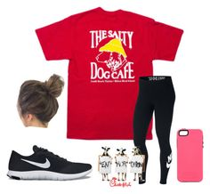 Untitled #30 by faithjones1223 on Polyvore featuring polyvore fashion style NIKE clothing