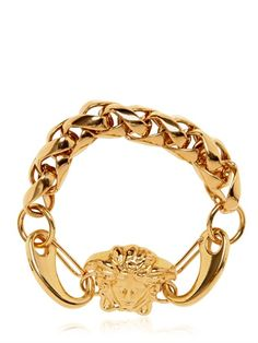 Versace GOLD PLATED CHAIN BRACELET