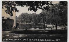 Indian Lake,Ohio-Belle Center-O'Connor's Landing-c1917 Real Photo hj76 | eBay