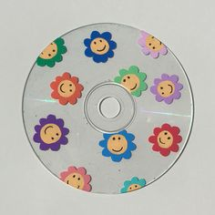 this cd is available on our etsy shop linked below! Record Wall Art, Cd Wall Art, Indie Room Decor, Cute Bedroom Decor, Cd Crafts, Indie Art, Diy Canvas Art, Vinyl Art, Happy Design