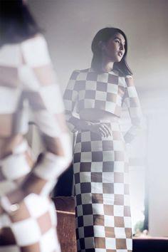 Gary Pepper in Louis Vuitton