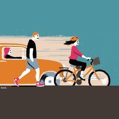 ¿Un ciclista puede usar la calle si hay una ciclovía?