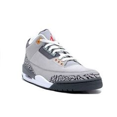 Limited Edition Jordan Shoes hit the market now!Air Jordan 3 III Retro Shoes - Sport Silver Red, only $52.88! Browse our site www.jordansale2013.com and buy it now!