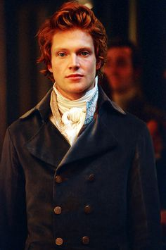 """Mr. Oliver Ashmore is younger in appearance than I would have thought him; yet there is an ageless quality to his visage that I find off-putting, to say the least. His bold red hair does nothing to soften the visceral impact of what seems to be a thousand years of knowledge. Ah, to be so worldly..."" (Simon Woods)"