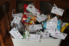 Marriage survival kit for a shower gift