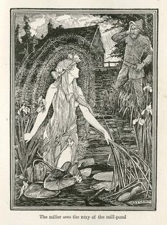 Nixie in the Pond | Fairy Tale of the Month