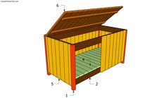 Step by step project about garden storage box plans. Building a storage box for your garden can be done by any woodworker amateur, as it requires basic techniques.