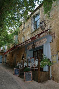 Restaurant 'Le Relais de la Poste, in Sarlat-la-Canéda, Perigord, France
