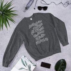 Peace Unisex Sweatshirt - Dark Heather / S