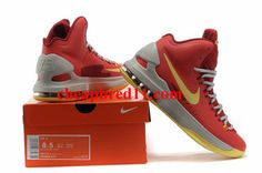 Nike KD V Bright Crimson Volt Wolf Grey 554988 610 Kd Shoes e37f95801b59