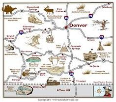 18 Best Colorado Maps Images Map Of Usa Us Map Interactive Map