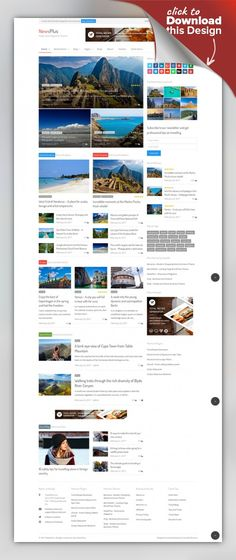 NewsPlus - News and Magazine WordPress theme blog, clean, creative, editorial, fashion, gallery, magazine, minimal, modern, news, newspaper, personal, responsive, review, video A multi purpose magazine WordPress theme for online newspaper, news, blog and editorial ventures. NewsPlus is an excellent choice for e magazine, online newspaper, travel blog, food recipe blog, fashion magazine, personal blog or editorial and review websites. It comes wi...