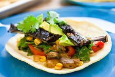 Roasted Portobello Soft Tacos #vegan #glutenfree | Keepin' It Kind