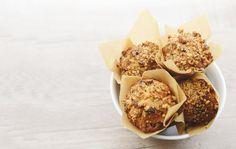 红枣核桃麦芬(muffin)-出炉后