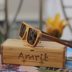 c1445ddafd1dc Make a statement with these wooden sunglasses. The best part You