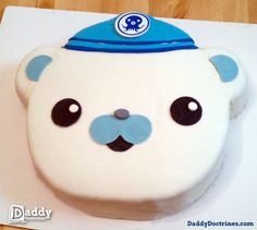 An Octonauts Birthday Cake Cupcake Party, Party Cakes, Cupcake Cakes, 3rd Birthday Cakes, 4th Birthday, Birthday Ideas, Octonauts Party, Diy Cake, Octanauts Cake