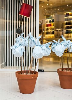 Food Bindles - Easter Party 2014 at Design Centre, Chelsea Harbour