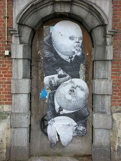 "Artist :FSTN    ""  Brussel  Belgium """