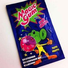 Das knisternde Magic Gum kam aus einer anderen Welt: