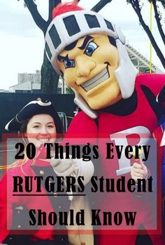 20 Things Every Rutgers Student Should Know – SOCIETY19
